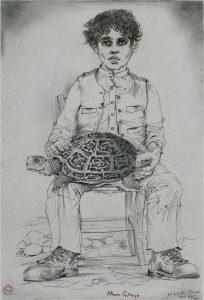 Caruso, Ragazzo con tartaruga