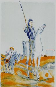 Sassu, Il cavaliere della triste figura