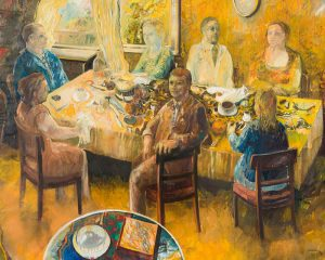 Robert Carroll The big table 130x163