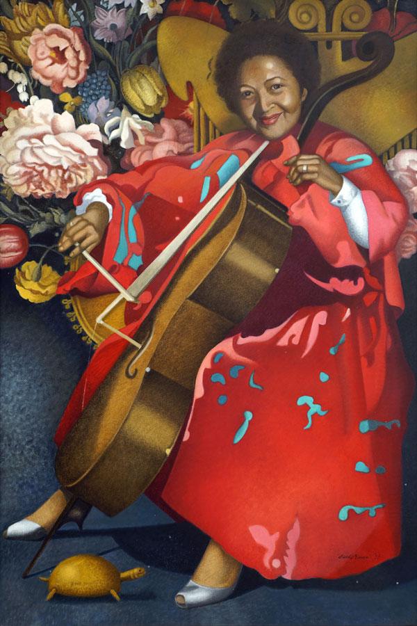 Wanda Broggi, Ritratto di Teresita Olivares, 1991, olio su tela, cm 120x80