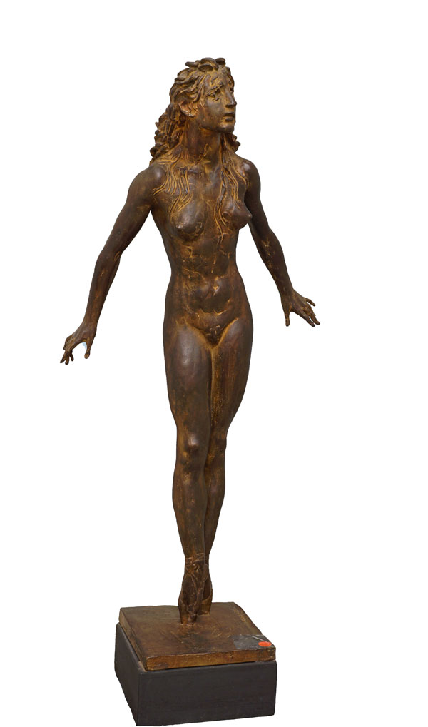 Francesco Messina, Royal ballet, 1980, scultura in bronzo, cm 81x34x19