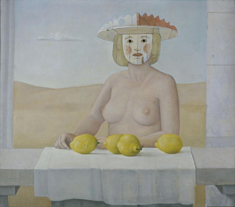 Claudio Bonichi, Apparizione, 1978, olio su tela, cm 80x90