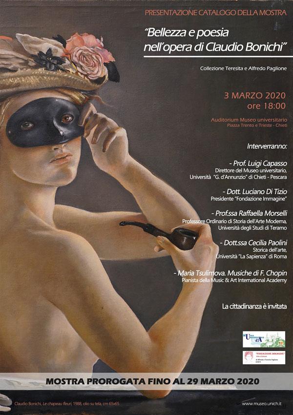 locandina museo universitario 3 marzo 2020